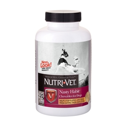 Nutri-Vet Nasty Habit Chewables For Dogs