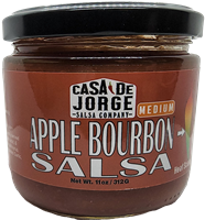Apple Bourbon Salsa