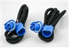 This is a new OEM Meyer Headlight Adapter Harness Kit 07102. This Adapter Harness is used with the Nite Saber Lights for a Ford and Dodge. This Adapter Harness Kit is used with Headlight Bulb No. HB5 and H9007.