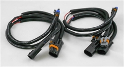 This is a new OEM Meyer Headlight Adapter Harness Kit 07104. This Adapter Harness is used with the Nite Saber Lights for a 1988-1998 or 2003-2006 Chevy and GMC.