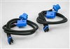This is a new OEM Meyer Headlight Adapter Harness Kit 07106. This Adapter Harness is used with the Nite Saber Lights for a GMC, Ford, Dodge and Toyota. This Adapter Harness is used with Headlight Bulbs No. HB1 and H9004.