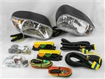 This is a new OEM Meyer Snow Plow 12 Volt Light Carton 07234. The Light Kit includes the Driver and Passenger Side Lights 07225 & 07224, the Control Module Carton 07548 and Hardware Bags A and B.