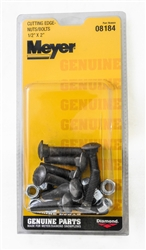 OEM Meyer Cutting Edge Bolt & Nut Kit 08184C.