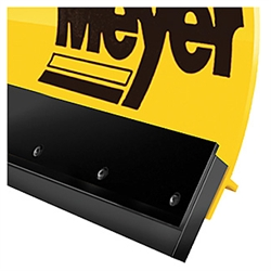 "This is a new OEM Meyer Rubber Cutting Edge 08186. This 6.5 ft. Rubber Cutting Edge fits two meter plows, has 3"" long slots for adjustment and comes with the mounting bolts & nuts."