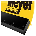 "This is a new OEM Meyer Rubber Cutting Edge 08191. This 8' 6"" Rubber Cutting Edge fits two meter plows, has 3"" long slots for adjustment and comes with the mounting bolts & nuts."