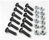 OEM Meyer Cutting Edge Bolt & Nut Kit 08318.