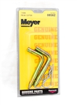 This is a new OEM Meyer Hinge Pins with Linch Pins 08562C. This package includes 2 Hinge Pins and 2 Linch Pins.