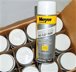 Case (12 cans) of Meyer OEM Yellow Sno Flo Spray Paint 08677
