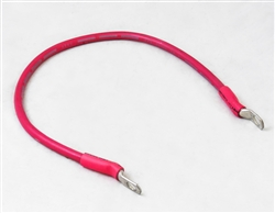 "Arctic Snow Plow 22"" Red Battery Cable 1306340."