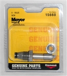 "This is a new OEM Meyer ""A"" Cartridge Valve 15660C for the E-60, E60H and V-66."