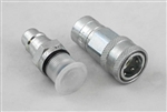 This is a new OEM Meyer Male Half Low Spill Coupler 15821 for the E-60 and E-60H