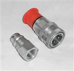 This is a new OEM Meyer Female Half Low Spill Coupler 15822 for the E-60 and E-60H.