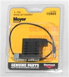 "This is a new OEM Meyer ""A"" Black Wire Coil 15905C for the E-60 and E-60H."