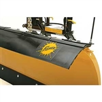 OEM Fisher Rubber Deflector Kit 22390 for MC Series Snowplows.