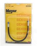 This is a new Meyer OEM Snow Plow Hydraulic Hose 22394C.