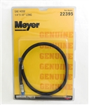This is a new Meyer OEM Snow Plow Hydraulic Hose 22395C.