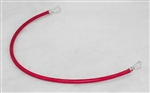 "This is a new OEM Fisher 22"" Red Hard Wire Battery Cable 22511."