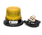 This is a new OEM Fisher Snowplow Mini Strobe Round Light 26018-2