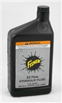 This is a new OEM Fisher Quart of EX Flow Hydraulic Fluid 28531.