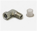 This is new OEM Fisher 1/4 x 90 Degree Swivel Adapter 319K