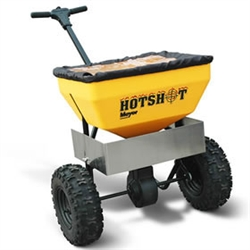 The Meyer Hotshot 70RD Walk-Behind Salt Spreader part #38170 is perfect for salt control in the winter and ground maintenance during the spring, summer and fall. The spreader is built to handle extreme conditions for year-round use.