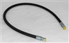 "This is a new OEM Fisher 3/8"" x 42"" Snow Plow Hose 44348. This is a replacement Hydraulic Hose with FJIC ends."