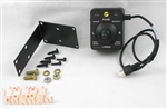 This is a new OEM Fisher Multi-Plex Joy-Stik Control Kit 49900. This has a 4-Pin Square Connector and cannot be interchanged with other controls. This can be used with a Straight Plow Blade or a V-Plow Blade.