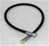 "This is a new OEM Fisher Hydraulic Hose 56599. This Hydraulic Hose Measures 36"" Long and is 1/4"" in Diameter with Female Fittings (FJIC)."