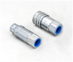 This is new OEM Fisher Hydraulic 1/2 inch Coupler Set 57893.