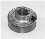 "This is a new OEM Fisher Pulley 65766. This Fisher Replacement Pulley has a 2"" x 3/4"" Bore."