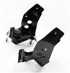 The Fisher Minute Mount 2 Plow Mount Kit 7163-1 includes the driver-side push plate, the passenger-side push plate, 2 spacers and the bolt bag. This plow mount is used on Jeep Wranglers 1997-2006.