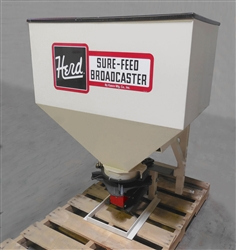 Herd Kasco Model 750S 3-Point Wet Sand and Salt Spreader 1200 lb. Capacity