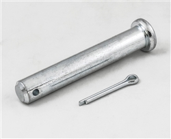 "This is a new OEM Fisher Pivot Pin with Cotter Pin 7905K. This Pivot Pin measures 1"" OD x 6 3/8""."