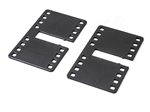 OEM Fisher Steel Panel Mounting Plate Set - Long 8290.
