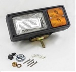 This is a new OEM Fisher Snow Plow Headlamp Replacement Kit 8328. The replacement Minute Mount headlamp is used on a 9-pin light harness set-up.