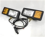 This is a new OEM Fisher Minute Mount Headlamp Kit 8416-1. This is a 9-Pin Headlamp Kit.