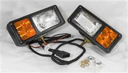 This is a new OEM Fisher Headlamp Kit 8435. This is Headlamp Kit is for 11 pin / 3 plug Plow lights. This set can be used on any of the 3 Plug Plows.