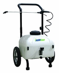 90.710.009 BE Agriease 9 Gallon Pull Sprayer with 12V Rechargeable Battery.