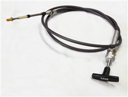 "This is a new OEM Fisher 90"" Raise Cable A2849."