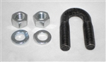 "This is a new OEM Fisher U-Bolt Assemby A6148K. This Assembly includes with 3/8"" U-bolt, two 3/8"" Lock Washers and two 3/8"" Nuts."
