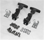 This is a new OEM Fisher Salt Spreader Lid Latch Kit P3045.