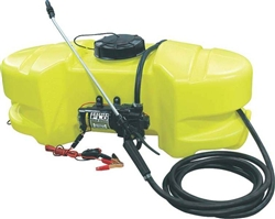 AG South Gold Scorpion Series 15 Gallon 2.1 GPM ATV/UTV Sprayer SC15-SS-GTNS with High-flow Pump.