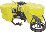AG South Gold Scorpion Series 25 Gallon ATV Spot Sprayer SC25-ATV-DX-TNS with High-flow Pump with 3.8 GPM.