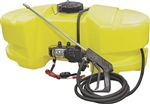 AG South Gold Scorpion Series Hi Flo 25 Gallon ATV/UTV Spot Sprayer 2.1 GPM SC25-SS-GTWS-NS.