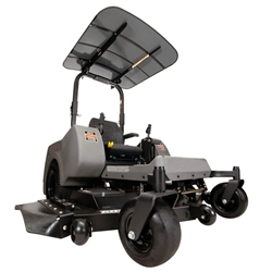 "Femco Tuff Top Gray 44"" x 44"" SCR44A Canopy & Sunshade for Swisher Zero Turn Lawn Mowers."