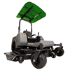 "Femco Tuff Top Green 44"" x 44"" SCR44G Canopy & Sunshade for Zero Turn Lawn Mowers."