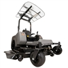 "Femco Tuff Top White 44"" x 44"" SCR44W Canopy & Sunshade for Swisher Response Zero Turn Mowers"