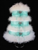 Bottles at Tiffany's Diaper Cake