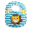 Blue Safari Lion Bib