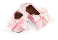 Satin Bow Shoe